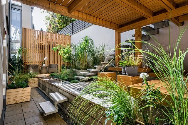 low maintenance backyard landscaping