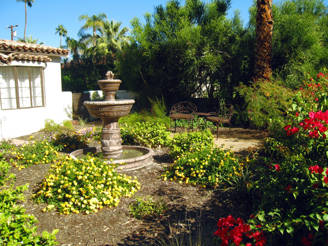 palm springs landscape design water wise landscape
